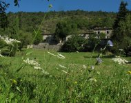 Drôme Valley, large and beautiful house, 15' Crest