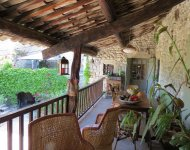 DROME PROVENCALE, Superb town house with a garden and and a pool