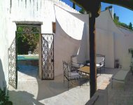 SOUTH ARDECHE Nicely restored 17century town house with a pool in a village