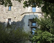 DROME PROVENCALE, Medieval chateau 12th 16th century to be restored. View