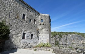 SOUTH ARDECHE , beautifully restored 11th 19th century chateau in a village
