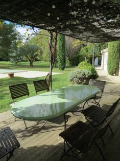 DROME PROVENCALE charming ground floor House with pretty garden and pool