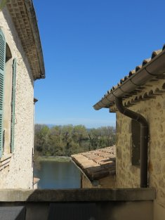 SOUTH ARDECHE superb 17-19 th Town House courtyard terraces swimming pool