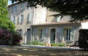 SOUTH ARDECHE noble house in a village